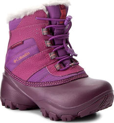 Χιονιού COLUMBIA - Childrens Rope Tow II Waterproof BC1323 Northern Light/Melonade