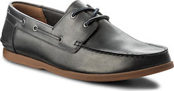 Μοκασίνια CLARKS - Morven Sail 261324737 Navy Leather