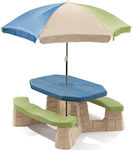 Step2 Sit & Play Picnic Table With Umbrella 843800
