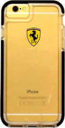 Ferrari Shockproof Racing Shield Διαφανές Μαύρο (iPhone 8/7 Plus)