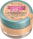 Rimmel Fresher Skin Foundation SPF15 100 Ivory 25ml