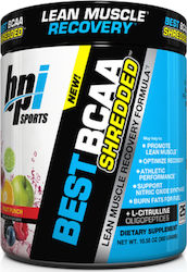 Bpi Sports Best BCAA Shredded 275gr Blue Raspberry