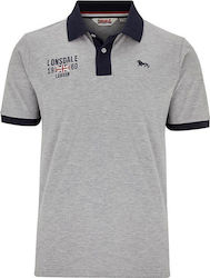 Lonsdale Capton 113605 Grey Marl