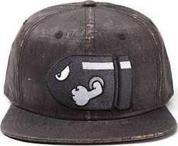 Nintendo Super Mario Bullet Bill Weathered Baseball Cap