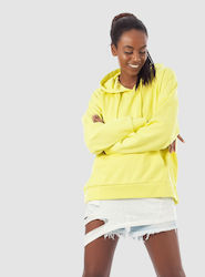 Only Hoodie Florence-Fluo Yellow (Φούτερ Γυναικείο Φούτερ Fluo Yellow - 15151771)