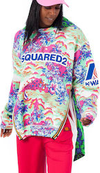 Dsquared & K-Way Panelled Sweatshirt/Jacket -Printed (Μπουφάν , Φούτερ Γυναικείο Sweater Printed - S72GU0141 S25378)