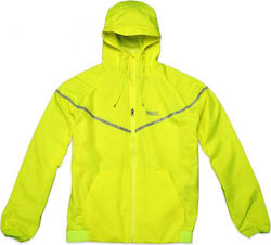 Body Action Windrunner Jacket 073501 Light Yellow