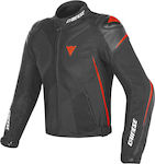 Dainese Super Rider D-Dry Black/Black/Fluo Red