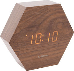 Karlsson Hexagon Wood KA5651DW