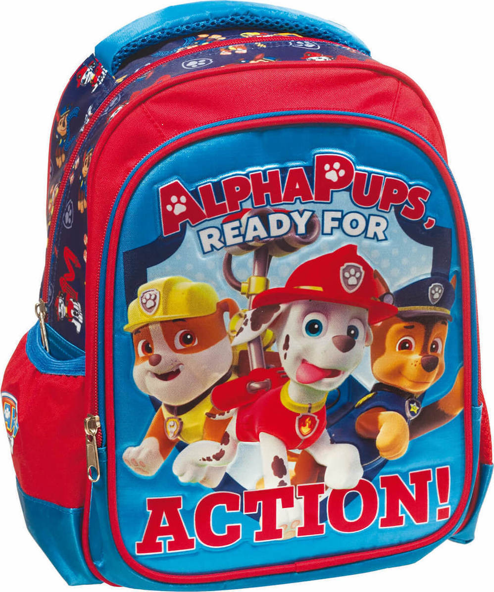 7b2a841d724 Προσθήκη στα αγαπημένα menu Gim Paw Patrol Alpha Pups Ready Action