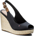 Tommy Hilfiger Iconic Elena Sling Back Midnight