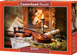Still Life With Violin And Painting 1000pcs (C-103621) Castorland
