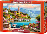 Village Clock Tower 2000pcs (C-200696) Castorland
