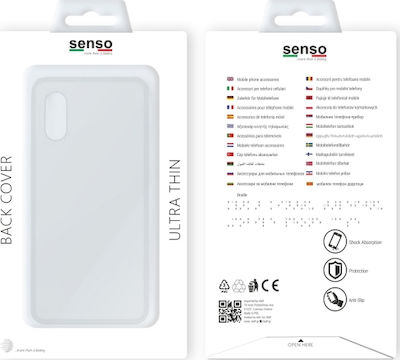 Senso Back Cover Σιλικόνης 0.3 Διάφανο (Huawei P20 Pro)