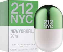 Carolina Herrera 212 New york Pills Eau de Toilette 20ml