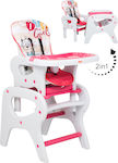 Kiddo Eat & Play 2 in 1 Pink
