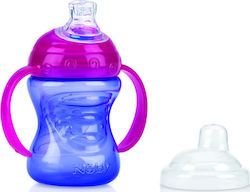 Nuby Drinking Cup PP Purple 6m+ 240ml