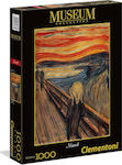 Museum Collection Munch: The Scream 1000pcs (1260-39377) Clementoni