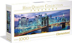 High Quality Collection: New York Brooklyn Bridge 1000pcs (1220-39434) Clementoni