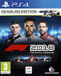 F1 2018 (Headline Edition) PS4