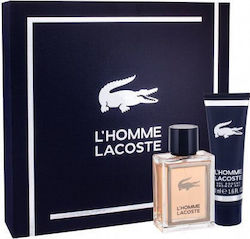 Lacoste L´Homme Lacoste Eau de Toilette 50ml & Shower Gel 50ml