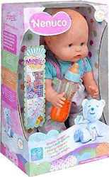 As Company Nenuco - Magic Feeding Bottle - Grey Clothes