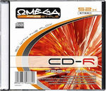CD-R 700 MB 80 Min Slim Case Omega - 10τμχ
