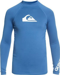 Quiksilver All Time Long Sleeve UPF 50 Rashguard Wetsuits Παιδικ