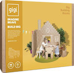 Gigi Bloks Big Building Blocks Tea 96τμχ