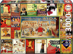 Collage of Operas 3000pcs (17676) Educa