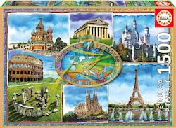 Seven Wonders Of Europe 1500pcs (17667) Educa