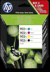 HP 903XL B/CM/Y High Yield 4-pack (3HZ51AE)