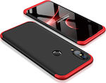 OEM 360 Full Body Black/Red (Huawei P20 Lite)