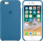 Premium Silicone Case Denim iPhone 6 Plus/6s Plus