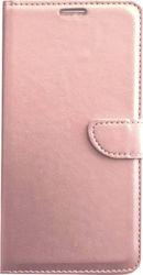 Θήκη Book με Δυνατότητα Stand και Υποδοχή Καρτών Ροζ Χρυσό (iPhone 6   6s  Plus) OEM 8d270ee4be9