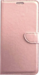 5dd157144e Θήκη Book με Δυνατότητα Stand και Υποδοχή Καρτών Ροζ Χρυσό (iPhone 6   6s  Plus) OEM