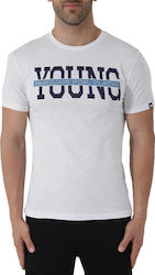 Umbro White Young Tee 67061E-0091
