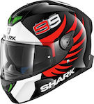 Shark Skwal II Lorenzo Black/White/Red
