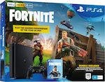 Sony PlayStation 4 Slim 500GB + Fortnite