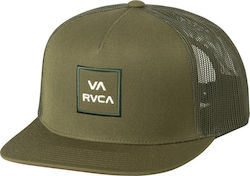 RVCA All The Way CTIII Trucker Hat Olive Green