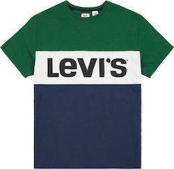 Levi's Colorblock Green / Navy