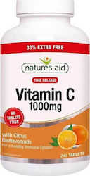 Natures Aid Vitamin C Time Release 1000mg 240 ταμπλέτες