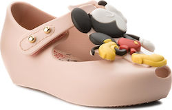 Κλειστά παπούτσια MELISSA - Mini Melissa Ultragirl + Disney 32376 Light Pink 01276