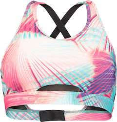 PW ACTIVE MESH INSERT BRA TOP Μπούστο Εισ. O'NEILL PNK/GRN