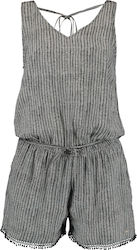LW STRAPPY PLAYSUIT O'NEILL BLK/WHT
