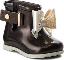 Γαλότσες MELISSA - Mini Melissa Sugar Rain Bb 32388 Black/White 53308
