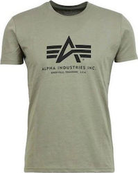 T-SHIRT ALPHA BASIC OLIVE