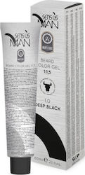 Sens.us Man Beard Colour Gel 1.0 Deep Black 60ml