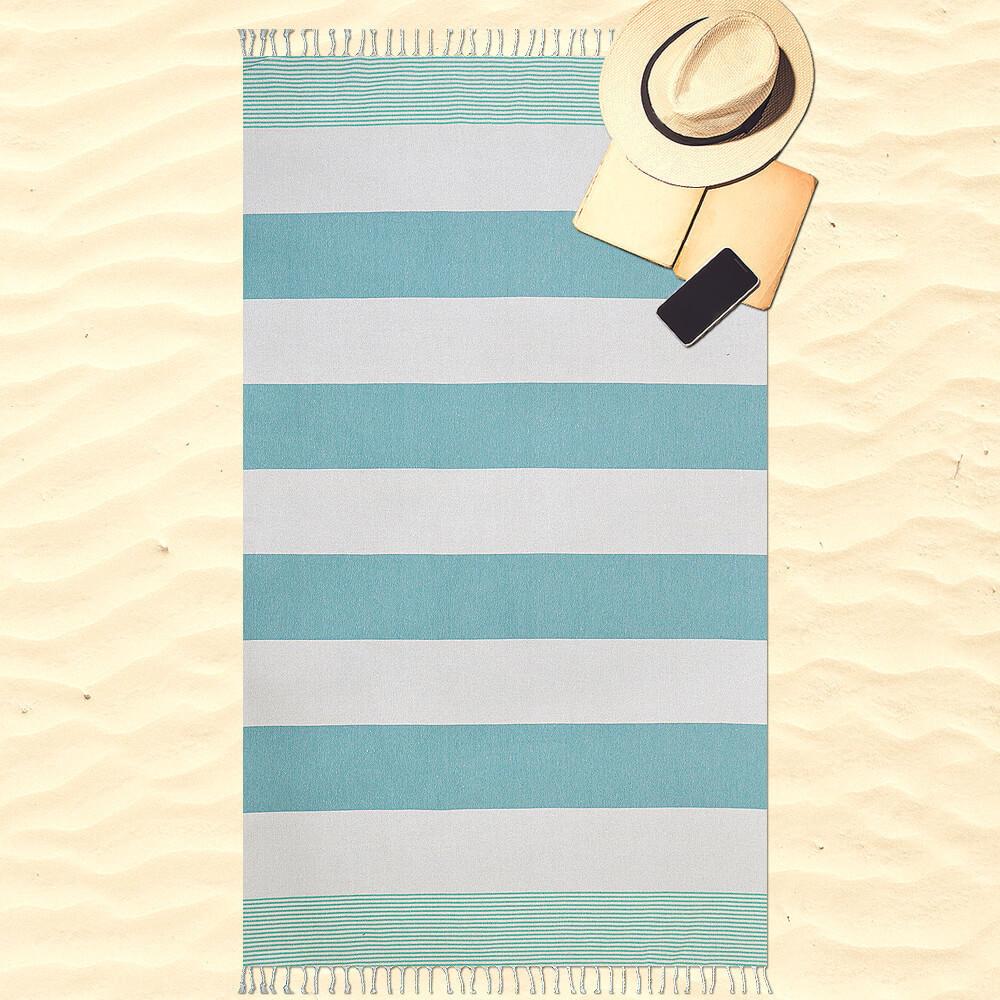 Προσθήκη στα αγαπημένα menu Lino Πετσέτα Θαλάσσης 100x190 Espanol Turquoise 946837661c0