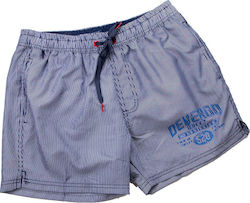 DEVERGO STRPPED NAVY SWIM SHORTS - NAVY BLUE ΑΝΔΡΙΚΟ ΜΑΓΙΟ